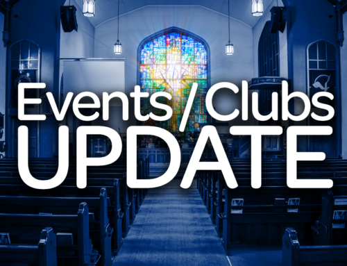 Events and Clubs Update
